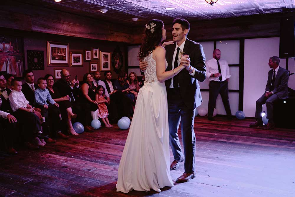 breckenridge wedding dance